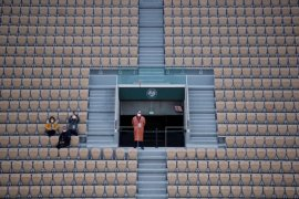 Lapangan utama French Open boleh dihadiri hingga 1.000 penonton