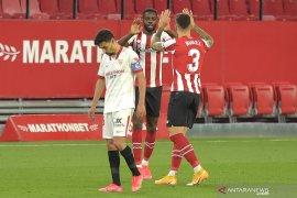 Dipermalukan Atheltic Bilbao 1-0, peluang juara Sevilla meredup