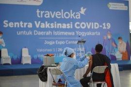 Sentra vaksinasi Traveloka di Yogyakarta layani 8.000-an warga