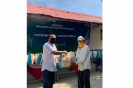 BNI salurkan bantuan sembako ke Desa Tegal Mas
