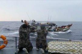 Dua kapal ikan  berbendera Vietnam ditangkap di Laut  Natuna Utara
