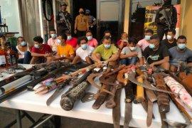 Polisi telusuri temuan senjata api dan drone di Kampung Ambon