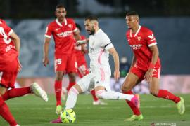 Liga Spanyol - Real Madrid gagal ke puncak setelah imbang kontra Sevilla