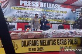 Polres Jakpus gagalkan peredaran sabu internasional seberat 310 kg