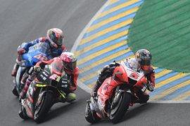 Zarco tegaskan kecepatan Ducati dalam sesi latihan kedua GP Prancis