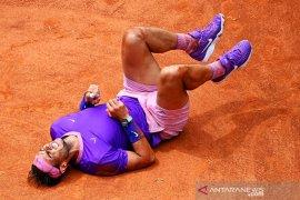Nadal balas kekalahan dari Zverev dalam perempat final Roma