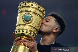 Jadon Sancho sesali gagal trigol di final DFB Pokal