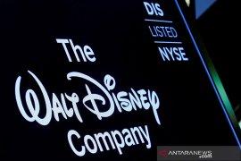 """Pertumbuhan layanan """"streaming"""" melambat, saham Disney jatuh"""