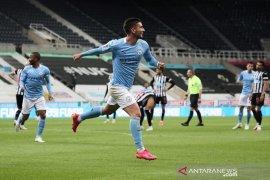 Liga Inggris - Manchester City catat rekor 12 kemenangan tandang beruntun