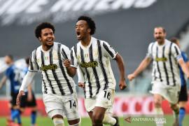 Cuadrado pimpin Juventus menangi Derby d'Italia dan tembus empat besar