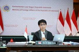Indonesia akan terus dukung perjuangan Palestina: Menlu RI