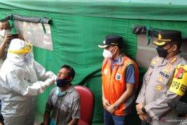 Puskesmas Kramat Jati layani tes usap pemudik yang tiba di Jakarta
