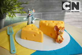 Cara membuat No Bake Cheesecake ala Tom & Jerry