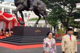 Megawati dan Prabowo resmikan patung Bung Karno