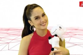 Aktris Cinta Laura didapuk jadi duta merek Jd.id