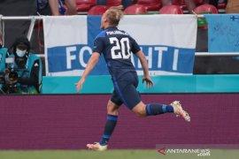 Finlandia kalahkan Denmark 1-0 setelah Christian Eriksen kolaps