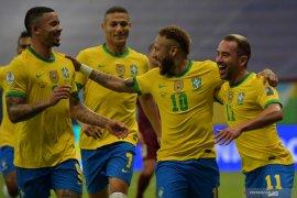 Brazil menang atas Venezuela 3-0 di laga pembukaan Copa America 2021