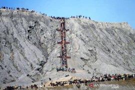 Wisata Gunung Bromo Jelang Yadnya Kasada 2021