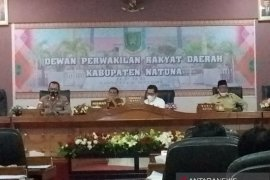 DPRD Natuna lakukan rapat kerja terkait penanganan COVID - 19