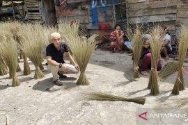 Masyarakat Pasbar mulai kumpulkan lidi sawit, solusi ekonomi disaat sulit (Video)