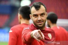 Euro 2020 - Goran Pandev segera pensiun dari timnas setelah Makedonia Utara hadapi Belanda