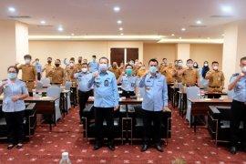 Kemenkumham Lampung gelar kegiatan penyusunan perencanaan produk hukum