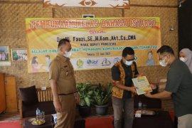 Wakil Bupati resmikan kelas bahasa isyarat pertama di Pringsewu