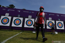 Tim panahan Indonesia lolos nomor beregu campuran Olimpiade Tokyo