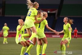 Hindari panas terik, Swedia dan Kanada, minta laga final sepak bola putri digeser
