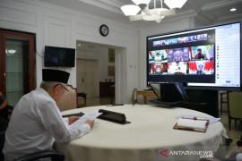 Wapres Ma'ruf Amin sebut kerja pers harus tetap berjalan di tengah pandemi