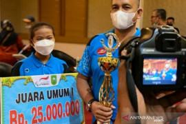 Kampar juara umum seleksi Pekan Paralympic Nasional Papua