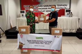 Pasien anak di Wisma Atlet dapat donasi produk balsam