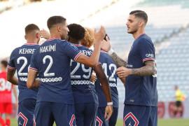 PSG imbang lawan Sevilla 2-2 dalam laga persahabatan pramusim