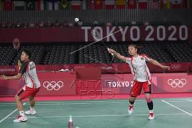 Olimpiade Tokyo - Ganda putri Indonesia Greysia/Apriyani raih medali emas