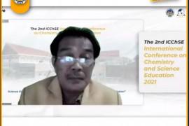 Jurusan Kimia UNP gelar konferensi internasional ICChSE 2021 kedua