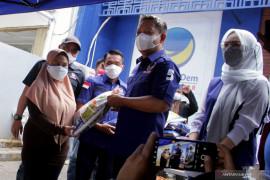 NasDem peduli COVID-19 salurkan 2.000 paket bahan pokok kepada masyarakat