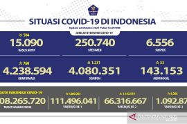 66.3 million Indonesians fully vaccinated against COVID-19: task force