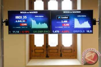 Indeks IBEX-35 Spanyol menguat 76,80 poin