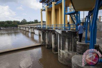 Akibat saluran irigasi dimatikan, produksi ikan turun 30 persen