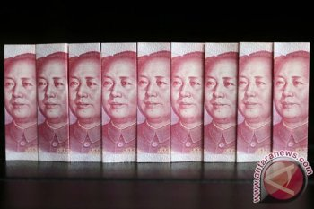 Yuan China menguat jadi 6,9236 per dolar AS