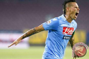 Napoli geser Inter Milan dari puncak klasemen Liga Italia