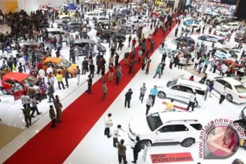 Penjualan mobil Indonesia 2017 naik 1,6 persen