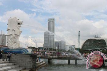 Bursa saham Singapura berakhir menguat 0,12 persen