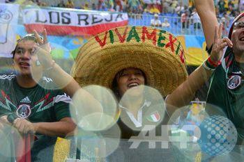 Pendukung Meksiko kreatif untuk tarik simpati