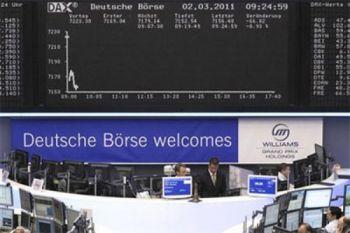 Indeks DAX-30 Jerman ditutup berkurang 0,53 persen