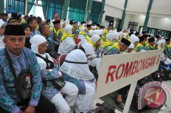 Kloter dua Embarkasi Palembang terbang Kamis dinihari