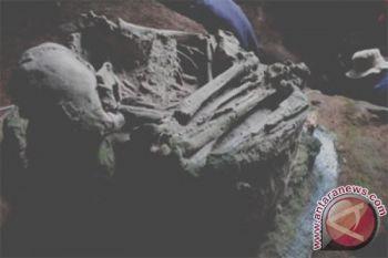 Tulang manusia dan binatang purba ditemukan di gua besar meksiko