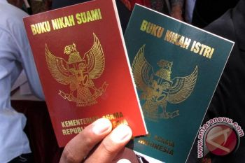 Cetak ulang buku nikah korban tsunami gratis