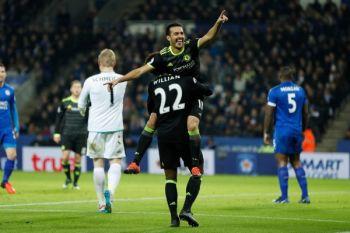 Chelsea tekan Manchester United usai kalahkan Huddersfield 3-1