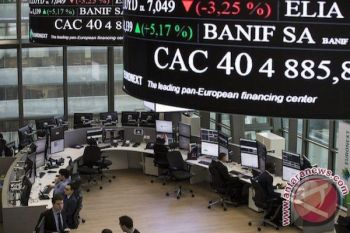 Indeks CAC-40 Prancis ditutup melemah 0,35%